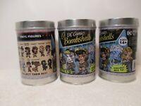 DC Comics - Lil' Bombshells Series 2 Vinyls - 3 Factory Sealed Tins -