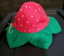 Gymboree NWT Yellow FLOWER GARDEN FLORAL RUFFLE DRESS SUN HAT CAP 0 3 Months