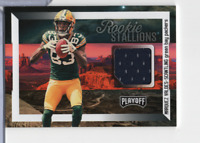 Marquez Valdes-Scantling Packers Jersey 40 Rookie Stallions Panini 110220MLCD