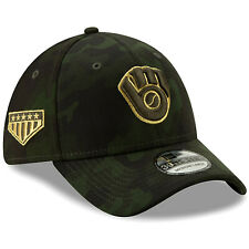 reputable site 633a6 35ccb Milwaukee Brewers New Era 2019 Armed Forces Day 39THIRTY Flex Hat