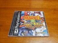 Marvel vs Capcom Clash of Super Heroes (Sony PlayStation) Complete with Reg Card