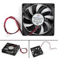 1x DC Brushless Ventilateur de Refroidissement 12V 8015s 80x80x15mm 0.16A 2 Pin