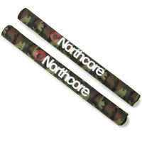 CAMO NORTHCORE Wide Load Roof Bar Pads NEW Surfboard SUP Pair (2)