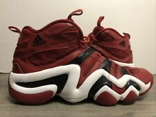 Vintage Adidas Crazy 8 Kobe Bryant Shoes Sneakers University Red Size 13 Mens