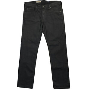 Adriano Goldschmied AG Size 33 Black The Matchbox Slim Straight Jeans