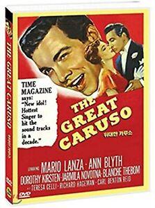 The Great Caruso - Mario Lanza, Ann Blyth NEW WORLDWIDE ALL REGION DVD UK SELLER