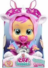 Cry Babies Sasha The Rhino Baby Doll, Toy, Gift Free Shipping 🚛💨