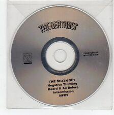(FE881) The Death Set, Negative Thinking - DJ CD