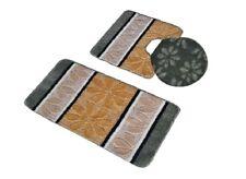 3 Piece Premium Avanti Polypropylene Bath Rugs Set (Beige / Sage)