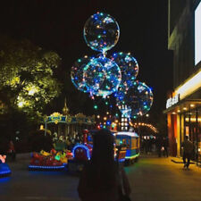 2018 Colorful Luminous LED Balloon Bubble Helium Balloons Lights Wedding  Decor