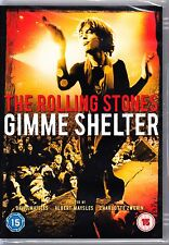 The ROLLING STONES - GIMME SHELTER DVD R4 NEW AND SEALED