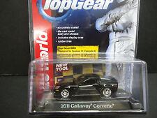 Auto World Callaway Corvette 2011 Black 1/64 Detail Car