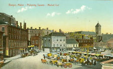 Bangor,ME. Market Day at Pickering Square   1909