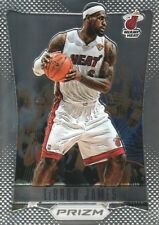 2012-13 PANINI PRIZM LEBRON JAMES # 1 RARE CHROME MIAMI HEAT 4X MVP CAVALIERS