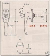 L-Handle Latch/Lock-Camper Top