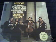 BEETHOVEN Rasumowsky QUARTETTO ITALIANO 2 LP Phillips M