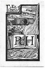KATHARINA JOANOWITSCH: Exlibris für  PCH