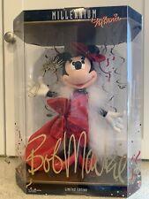 Disney and Bob Mackie Millennium Minnie Mouse 2000 NRFB