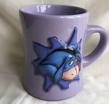 Official Disney Store Eeyore Lilac 3D Embossed Mug Cup