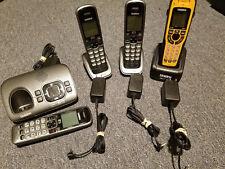 Used Uniden D1680-4 1.9 Ghz 4Handset Single Line Cordless Phone + bonus phone