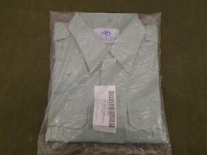 US Army Class A Uniform Short Sleeve Shirt AG 415 Size 17 Large 1996 New 60-N