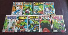 The Incredible Hulk Marvel Comics 9 Comic Book Lot #366-#412 9 Total NM