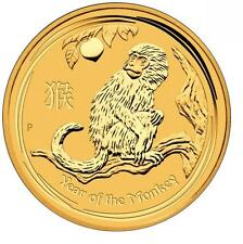 Goldmünze Lunar II Affe 15$ 1/10Oz 1/10 Unze 2016 Gold Monkey the Perth Mint Oz