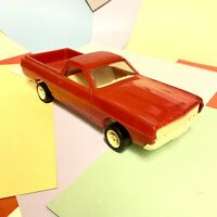 Vintage RARE 1970s Red Tonka Toys Ford Ranchero From Transporter Set