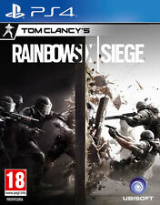Rainbow Six Siege Tom Clancy PS4 Playstation 4 IT IMPORT UBISOFT
