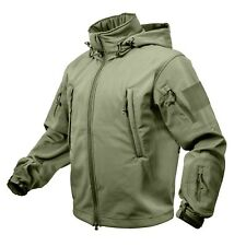 Special Ops Tactical Soft Shell Jacket in Olive Green NEW - Size 2XL