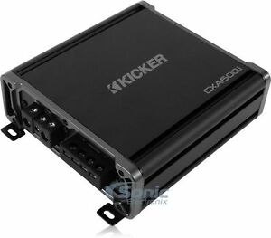 Kicker 43CXA6001 Car Audio Power Mono Amp 1200W CXA600.1 Monoblock Sub Amplifier