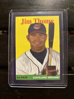 JIM THOME 2019 Topps Archives 027/175 PURPLE Border PARALLEL Cleveland Indians
