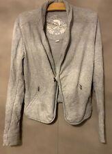 Diesel Grey Jersey Blazer Jacket - Size Small