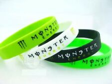 1 Bracciale Moto Gp Moto Cross Uomo Donna In Gomma Monster Siligone