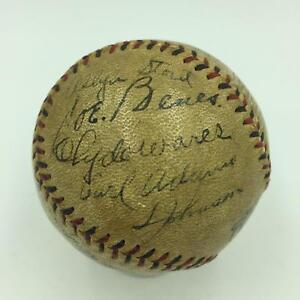 The Finest 1931 St. Louis Cardinals World Series Champs Team Signed Baseball PSA