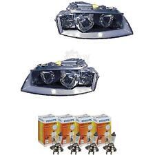 Scheinwerfer Set für Audi A3 8P Bj. 03-08 Bosch H7+H7 inkl. PHILIPS Lampen