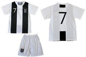 Turin Kinder T-Shirt Set Kindertrikot Fußball Mannschaft Trikot Short Jersey 107
