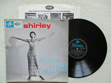 "LP 33T SHIRLEY BASSEY ""Shirley stops the shows"" COLUMBIA 33SX 1691 UK §"