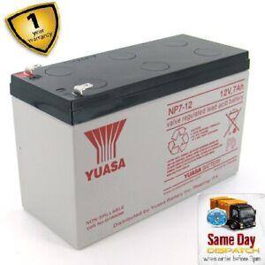 APC Back-UPS Pro 550 Replacement Battery BR550GI (Genuine YUASA)