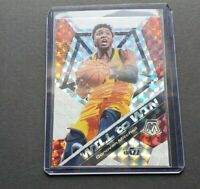 2019-20 Donovan Mitchell Mosaic Will to Win Silver Prizm Holo