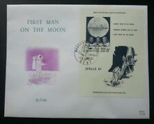 Belgium First Man On The Moon 1969 Space Astronomy Astronauts Apollo (ms FDC)
