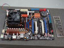 Asus M4A79T Deluxe Socket AM3 W/ AMD Phenom II, Heatsink, I/O #TQ1652