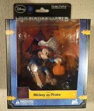 Disney Mini Figure World  Pirates Mickey Mouse Toy Figurine RARE