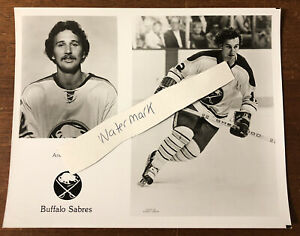 Vintage Buffalo Sabres Team Issued Photo Andre Savard Buffalo Memorial AUD