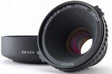 **Near Mint ** Nikon Nikkor-P・C 75mm f/2.8 Lens for Bronica W/ Bronco Metal Hood
