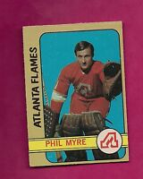 1972-73 OPC # 43 FLAMES PHIL MYRE ROOKIE CARD (INV# A234)