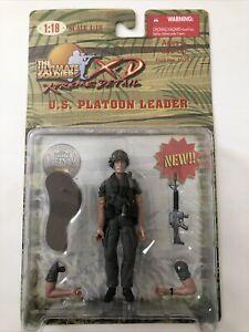 Ultimate Soldier 1/18 Scale XD Figure US Platoon Leader Vietnam Era New Unopened