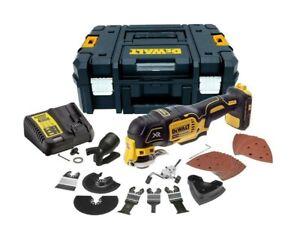 Dewalt DCS355N 18V XR Brushless Multi-Tool 35 Accessories TSTAK & Charger