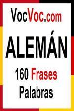 VocVoc. com ALEMÁN : 160 Frases Palabras by Patrick Auta (2015, Paperback)