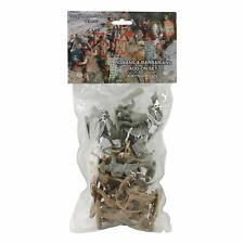 """TSSD ROMAN BARBARIAN INFANTRY COMBO 16 PLASTIC SOLDIER FIGURES 2.5"""" FREE SHIP"""